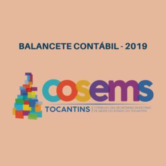 Balancete Contábil - 1º Quadrimestre de 2019